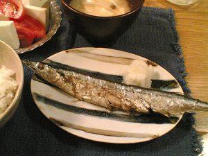 秋刀魚マナー2